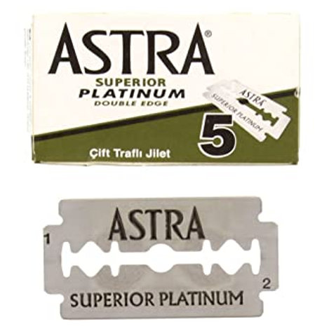 Safety Razor Blades Refills (pack of 5)