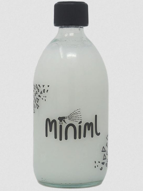 Fabric Conditioner MINIML Coconut scented (1L) in branded glass bottle