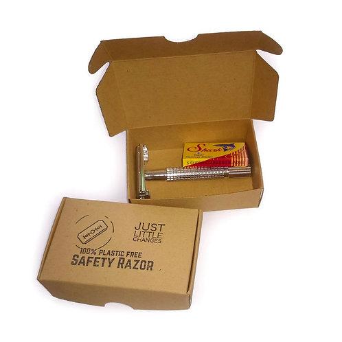 Plastic Free Safety Razor