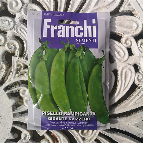 Sugar Pea from Franchi Seeds - 1 pack allowance