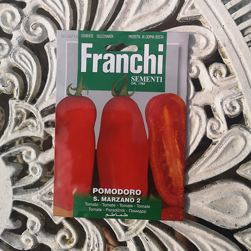 Pomodoro Tomato from Franchi Seeds - 1 pack allowance