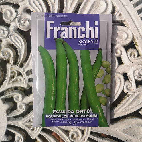 Broad Bean from Franchi Seeds (1 pack allowance)