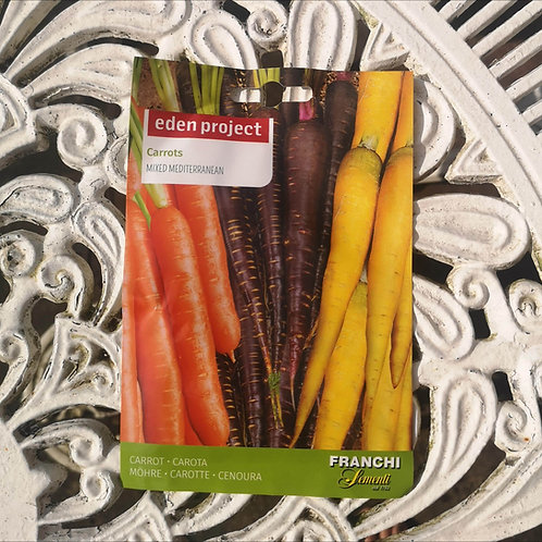 Heritage Carrots from Franchi Seeds (1 pack allowance)