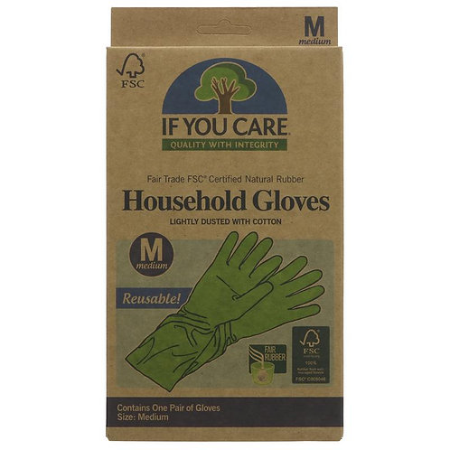 Natural Rubber Gloves (small)