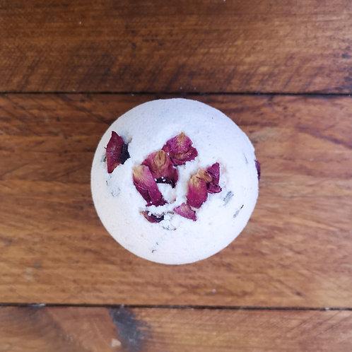 Nature's Soap Kitchen Bath Bomb - Rose