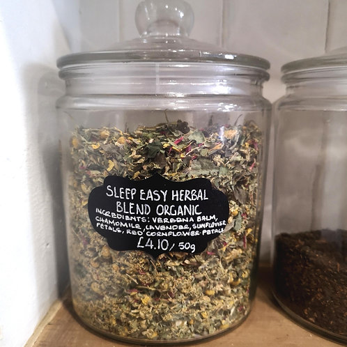 Sleep Easy Herbal Blend - Organic (50g)