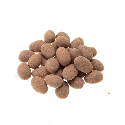 Organic chocolate covered almonds (per 50g)