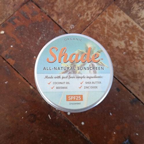 Shade All-Natural Sunscreen SPF25 100ml