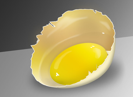 Делаем реалистичное разбитое яйцо с нуля