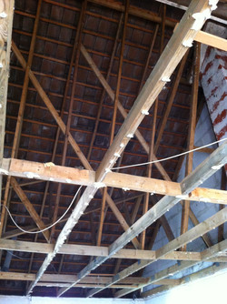 Démolition du plafond