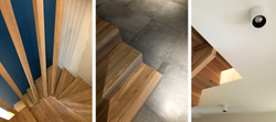 projet CHENES - détails de l'scalier
