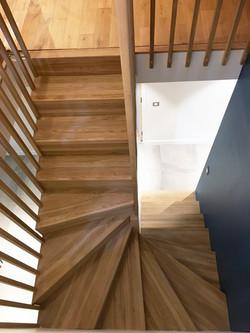 projet CHENES - Escalier