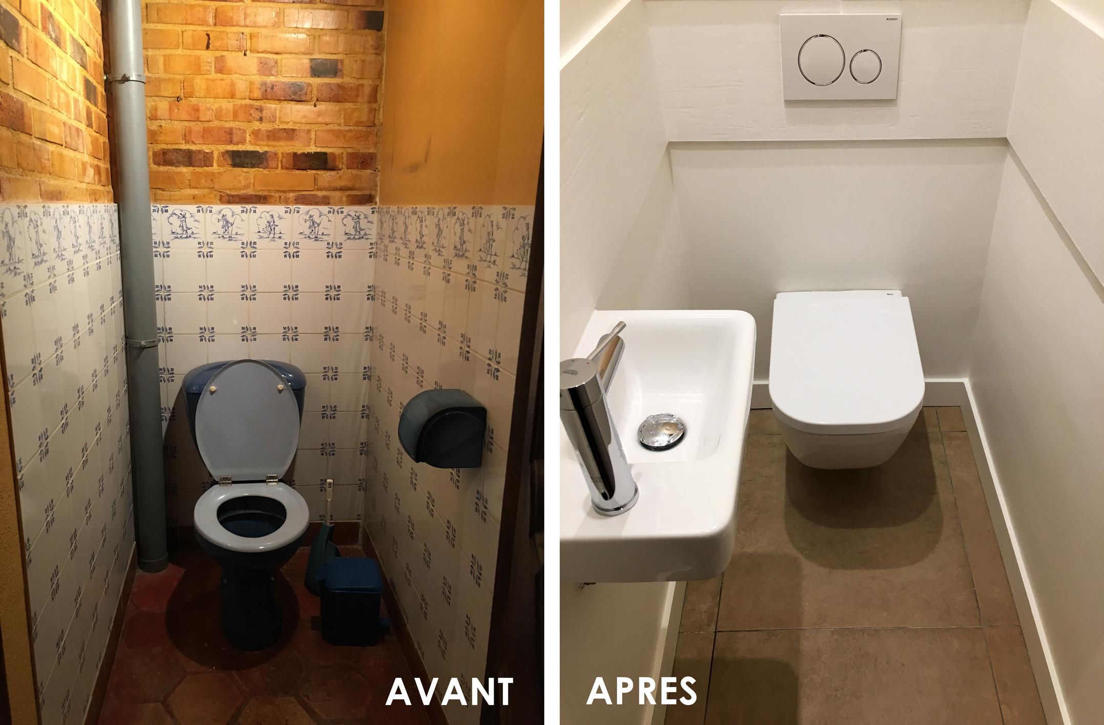 WC du Rez-de-chaussée