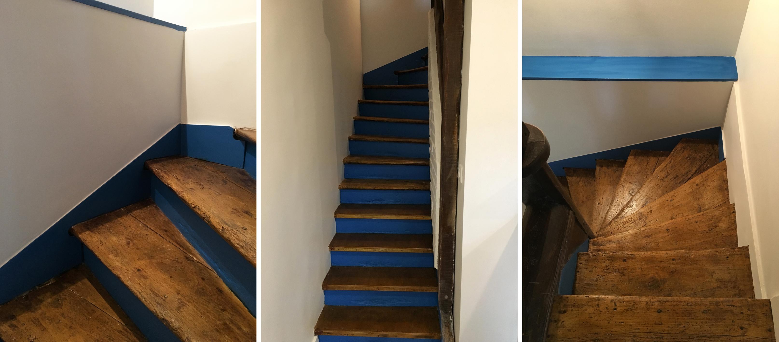 projet LAUNAY - escalier