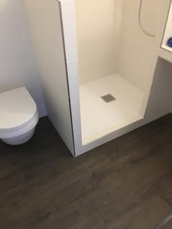 Pose des équipements sanitaires