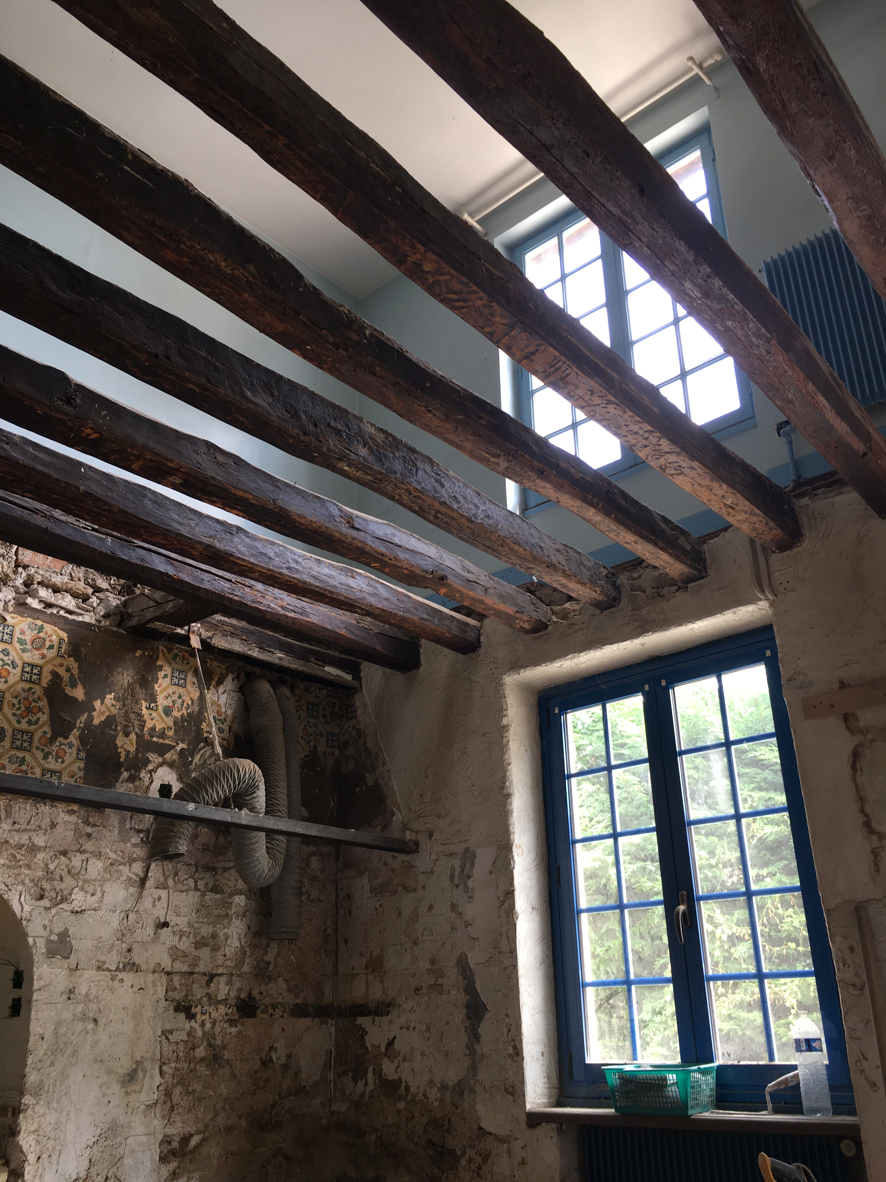 Démolition plafond/plancher