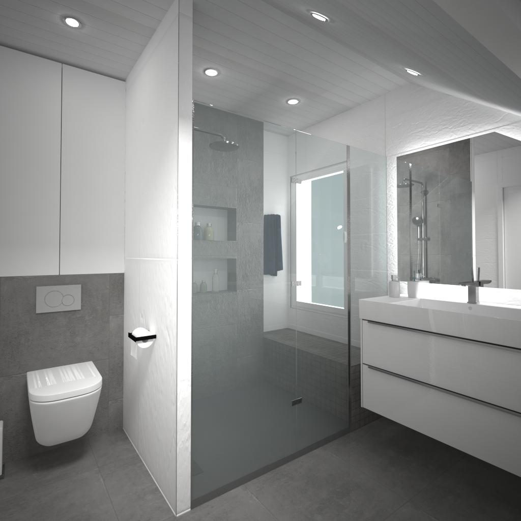 La Troche-salle de bain
