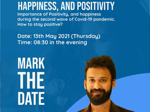 LIVE ISTAGRAM SESSION ON 13th MAY 2021