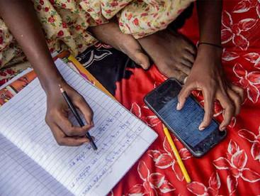 Unavailability of Smartphones Blocking Road to Education