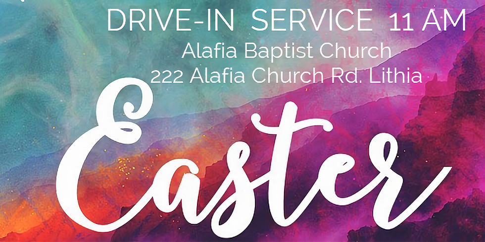 Easter Drive-In Service