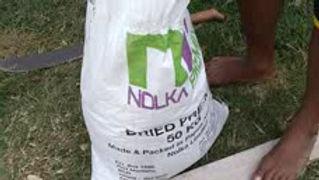 Nolka premix cement hand mixing