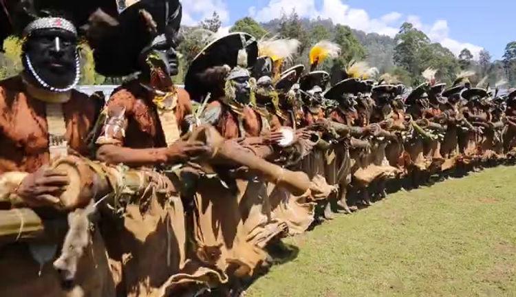 Enga Cultural Show Festival in Papua New Guinea