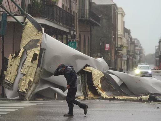 Biến đổi khí hậu khiến bão Ida tăng cấp nhanh chóng