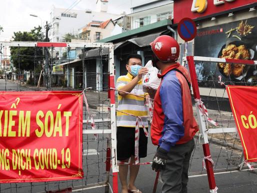 Covid - Việt Nam: Quân đội giúp Sài Gòn chống dịch với biện pháp cứng rắn chưa từng có