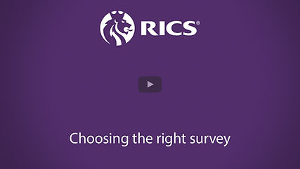 RICS what survey do I need