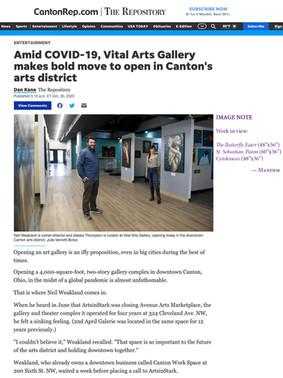 Vital Arts Gallery —In the Press