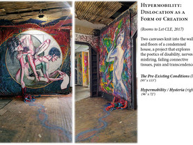 """Art in abandoned homes for """"Rooms to Let"""""""
