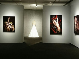 Thesis Exhibit - 'St. Sebastian' + 'Theotokos'