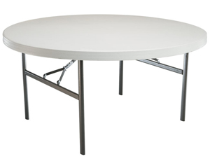 "60"" Round Tables or 60"" Rectangle"