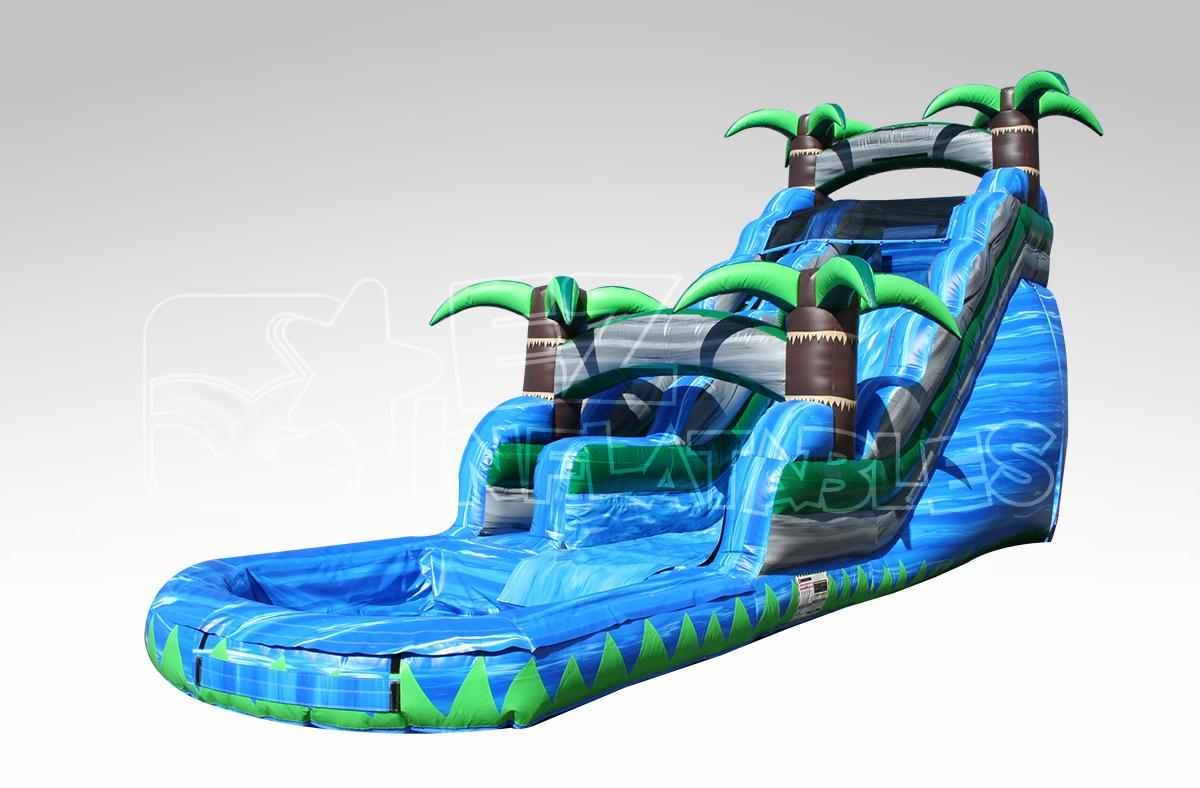 18' Tropical Waterslide!
