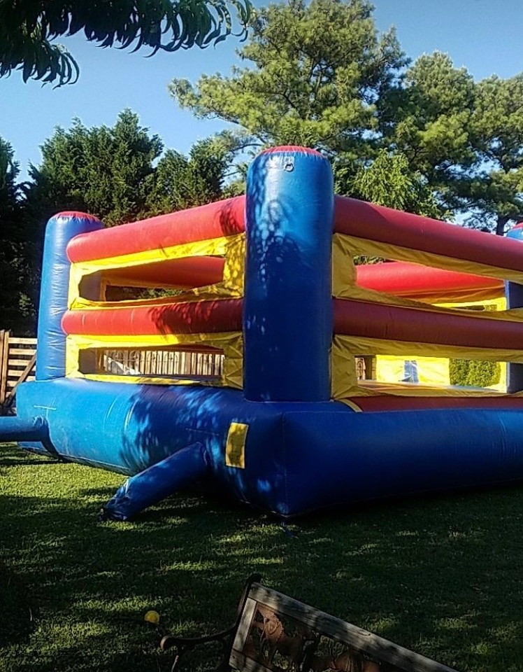 Inflatable Boxing Ring Package