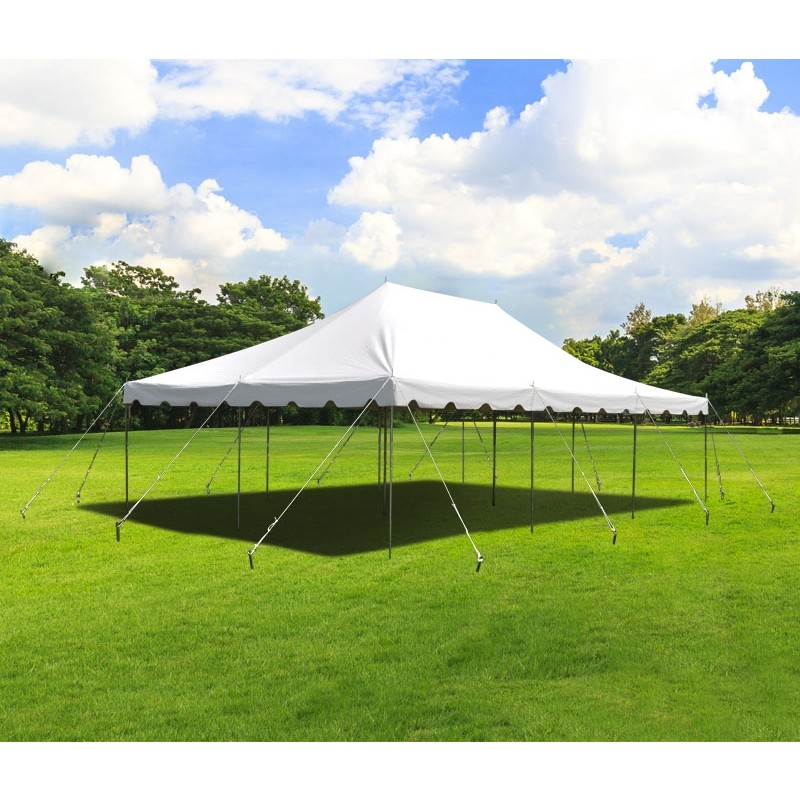 20x30' Rope & Pole Tension Tent