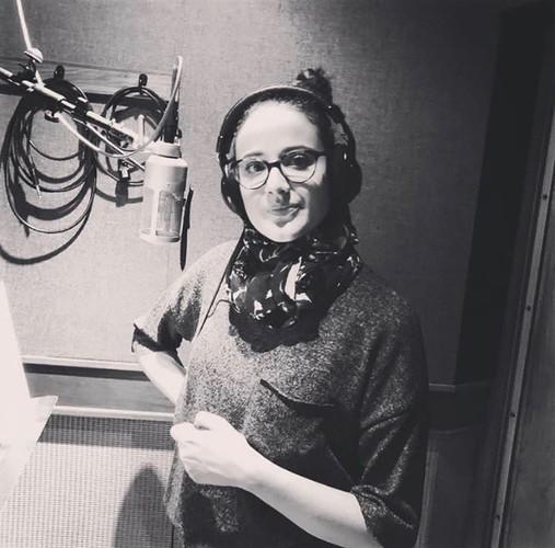 Melissa Salazar Recording at Eastside Sound Studio in New York city 2018