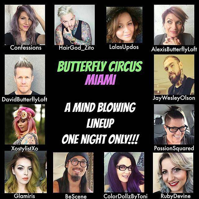 Butterfly Circus Miami