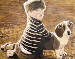 Gabe & His Dog