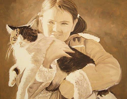 Caroline & Her Cat II