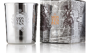 "Candle "" Montespan "" Arty Fragrance by Elisabeth de Feydeau Versailles France"