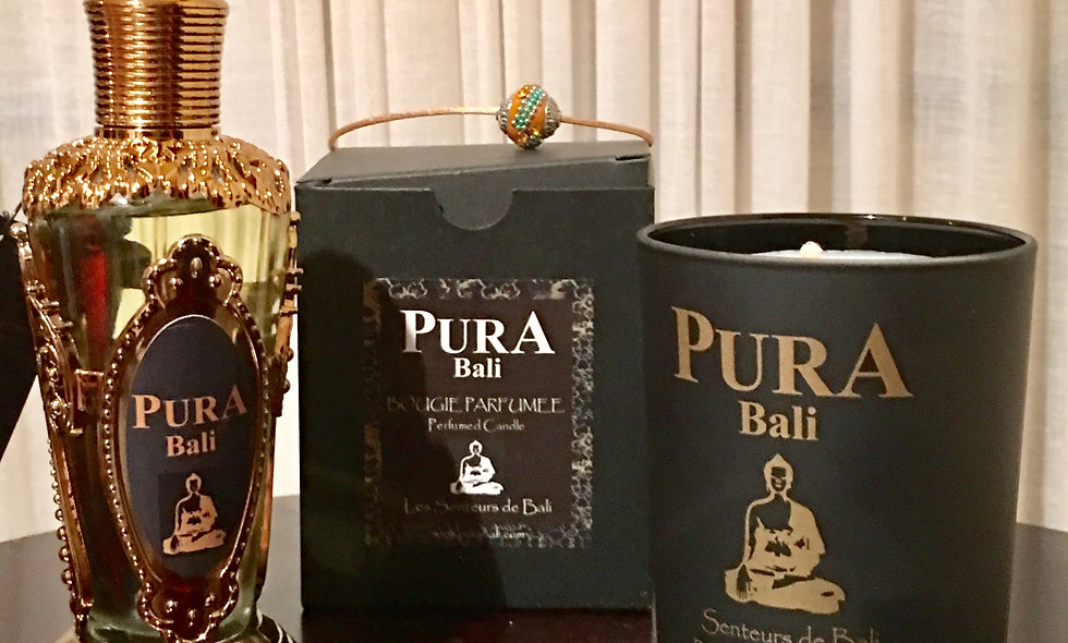PURA BALI Perfume Body Oil & Candle