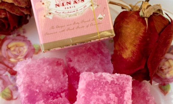 Rose Sugar+Tea +Soap Christmas Gift Package