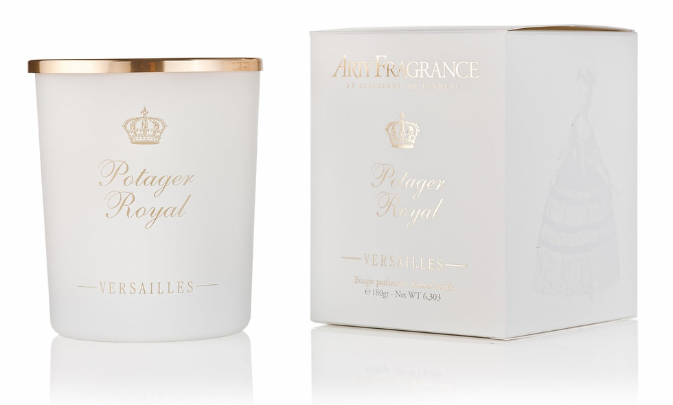 CANDLE - BOUGIE « POTAGER ROYAL «