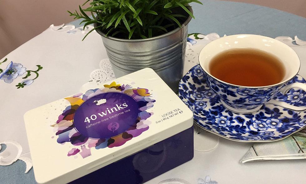 BED TIME TEA - 40 WINKS by Adagio Teas