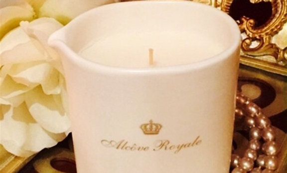 """Candle """"ALCOVE ROYAL 'Body Skin Care"""
