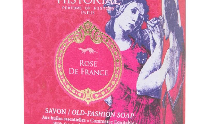 "SOAP-SAVON "" ROSE de FRANCE "" HISTORIAE"