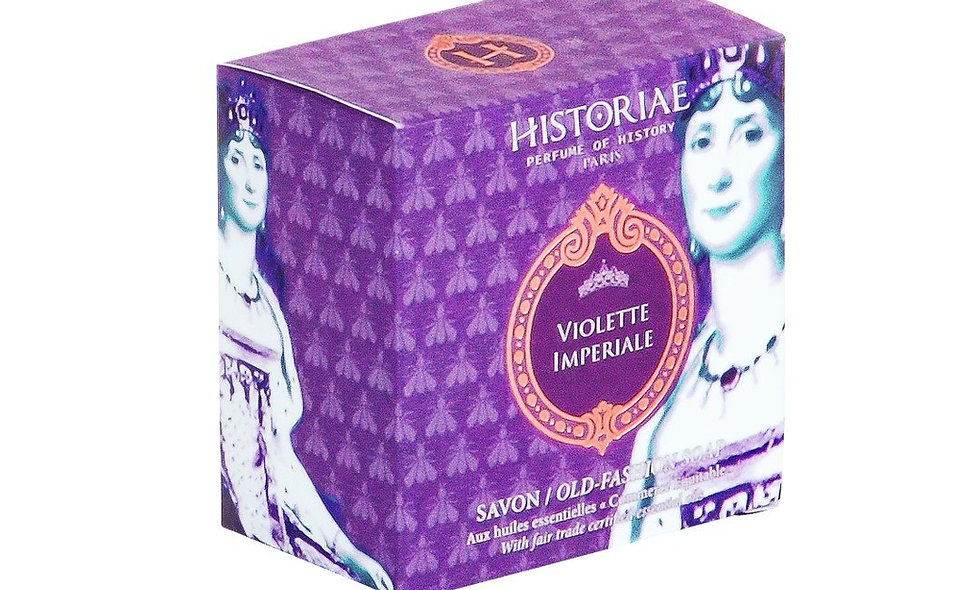 "SOAP-SAVON "" VIOLETTE IMPÉRIALE "" HISTORIAE"
