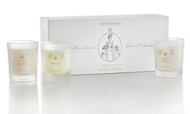 Candles Gift Arty-Fragrance by Elisabeth de Feydeau Versailles FR.