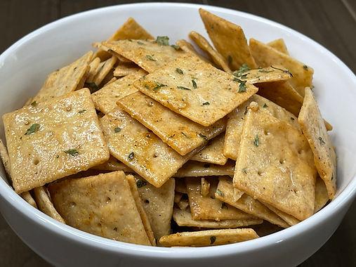 Seasoned Low Carb Crackers